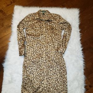 Lauren Ralph Lauren Ristea leopard print dress